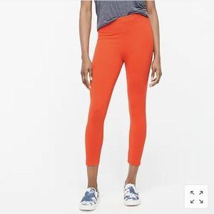 J. Crew factory everyday crop leggings orange